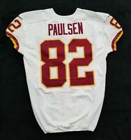 #82 Logan Paulsen of Redskins NFL Locker Room Game Issued Player Worn Jersey