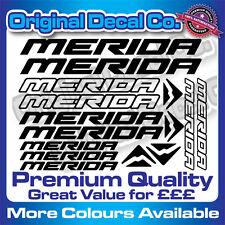Premium Quality MERIDA Bike Decals Stickers mountain bike frame bmx mtb