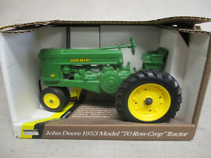"(1991) Ertl John Deere Model 70 Toy Tractor ""Blueprint Replica"" 1/16 Scale, NIB"