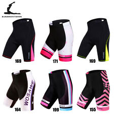 Shorts de ciclismo de Feminina Bicicleta acolchoado Calças Curtas Shorts Menina Senhoras Sport