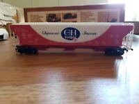 Vintage Tyco HO C&H Sugar Covered Hopper Car 54 Foot 359E : 350 In Original  Box