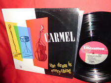 CARMEL The drum is everything LP 1984 AUSTRALIA MINT-