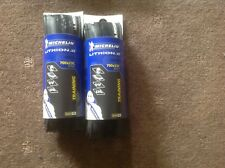 Michelin lithium 2 tyres pair, training and racing Clincher 700x 25 black