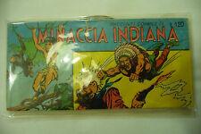 "BLAH BOW"" RACCOLTA STRISCIA ""Minaccia indiana "" Fumetto GALLIANI 1963"" A2"