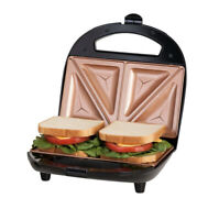 Gotham Steel Nonstick Portable Sandwich Maker & Panini Grill As Seen on TV NEW