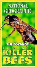 National Geographic's The Swarm - India's Killer Bees [VHS]  VHS Tape