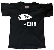 EZLN (pasamontana hood zapatistas pin subcomandante marcos zapatista) T-SHIRT