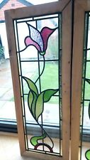 New Handmade Stained Glass Panels