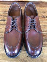 """Unworn Men's Allen Edmonds """"Ashton"""" Dress Shoes Brown Leather Size 8 D"""