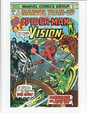 Marvel Team-Up #42 (1976) Nice Silver Age comic book - Spidey & The Vision!