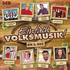 EINFACH VOLKSMUSIK-DIE 2.BOX  3 CD NEU