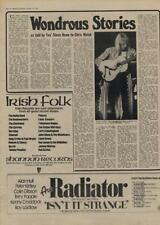 Yes Steve Howe Wondrous Stories Interview/article 1977