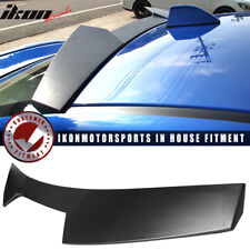Fits 15-18 Subaru Impreza WRX STI V2 Style Unpainted Black ABS Roof Spoiler Wing