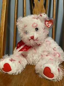 """Ty Punkies Bitty Kiss The Xs And Os Bear 12"""" Tall"""