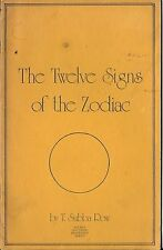 The Twelve Signs of the Zodiac by T. Subba Row 1977 Rare OOP Thelema Crowley