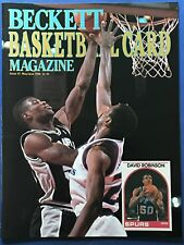 1990 Beckett Basketball Card Monthly Price Guide Issue#2 May/June David Robinson