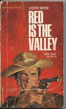 Red Is the Valley by Joseph Wayne (1967)   Ace Books