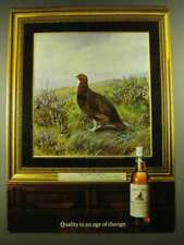 1979 The Famous Grouse Scotch Ad - An Age of Change