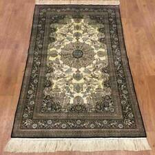 YILONG 3'x5' 400 Lines Handknotted Silk Persian Carpet Fine Quality Rug P035H
