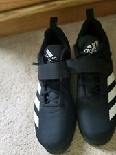 Mens Adidas Powerlift 4 Black Weightlifting Athletic Sport Shoe BC0343 Size 16