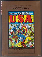 Marvel Masterworks Golden Age U.S.A. Comics Vol 2 New HC Captain America Whizzer
