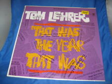 TOM LEHRER-That Was The Tear That Was-1965 Comedy Stereo LP/REPRISE [INV-6]