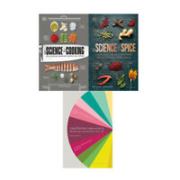 Science of Cooking,Science of Spice,Flavour Thesaurus 3 Books Collection Set NEW
