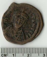 578-582 Tiberius II Constantinople 30 Nummi Sear 431 Ancient Bronze? Coin