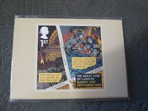 GB 2016 The Great Fire of London PHQ cards unopened pack