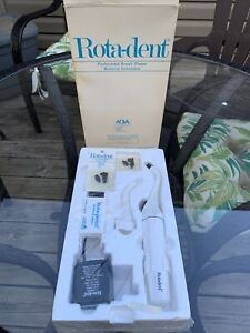 Vintage Prodentec Rotadent Professional Electric Rotary Instrument Complete