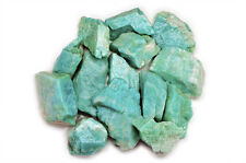 2 lbs Wholesale Amazonite Rough Stones - Tumbling Tumbler Rocks, Reiki, Wicca