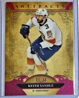Keith Yandle *Pink* 2020-21 Upper Deck Artifacts #5/30 - Florida Panthers