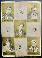 Humorous Images from a Victorian Scrapbook, Page Measures 12 by 9 Inches