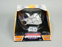 Star Wars Titanium Series SNOW SPEEDER Die-Cast Model #ob1