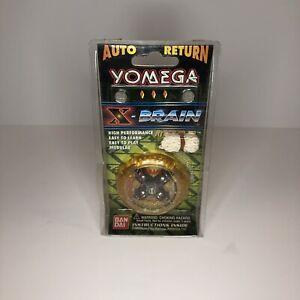 Vintage 1998 Bandai Yomega X-Brain Orange Original Yo-Yo In Original Package