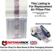 More details for 1 roll 200 x 200mm air pillows cushions defendapack pacplan airwave machine
