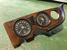 Jaguar XJ6 series 1 dash panel with speedo/rev counter and glove box