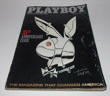 Playboy Magazine January 1989 Issue Fawna Maclaren Complete 35th Anniversary