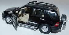BLACK HONGWELL MERCEDES - BENZ M-CLASS APPROX 1:43 1/4 USED