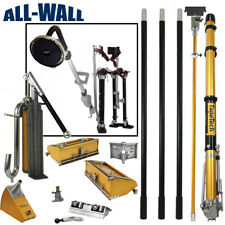 Tapetech Full Drywall Tapingfinishing Tool Set Bonus Free Stilts Amp Sander