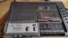 Vintage Sharp Model Rd-664Av1 Auto Stop Cassette Player Recorder