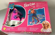 1998#VINTAGE FISHER PRICE BARBIE ROLLER DREAM SKATES SONIC ROLLERS PATTINI#NIB