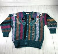 Vintage Womens Jaclyn Smith Coogi Style Emroidered Sweater Size Large