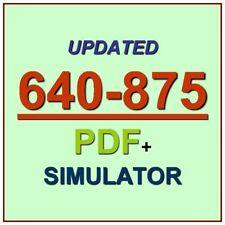 CCNA Cisco Service Provider Next-Generation Networks SPNGN1 Test 640-875 Exam QA