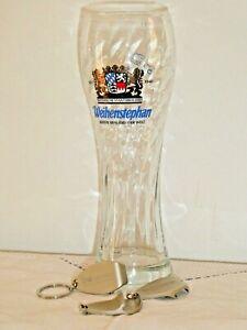2 Bayerische Staatsbrauere Weihenstephan Sturdy Hotel Quality Glass 3 Bottle Op