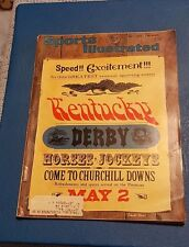 Vintage 1964 Sports Illustrated Kentucky Derby **FREE SHIPPING**