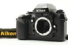 [NEAR MINT w/Strap] Nikon F4 35mm SLR Film Camera Body w/Strap From Japan #176