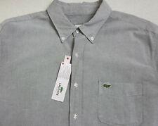 Lacoste Chemises Ebay Pour Sur Gris Habillées HommeAchetez deoWxBrC