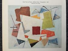 "Geer Van De Velde ""Composition"" Reprint"