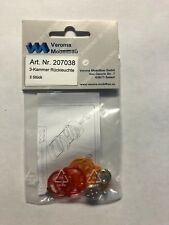 Verona Modellbau 1/8-1/16 SCALE RC CRAWLER TRAILER Accessories tail lamps